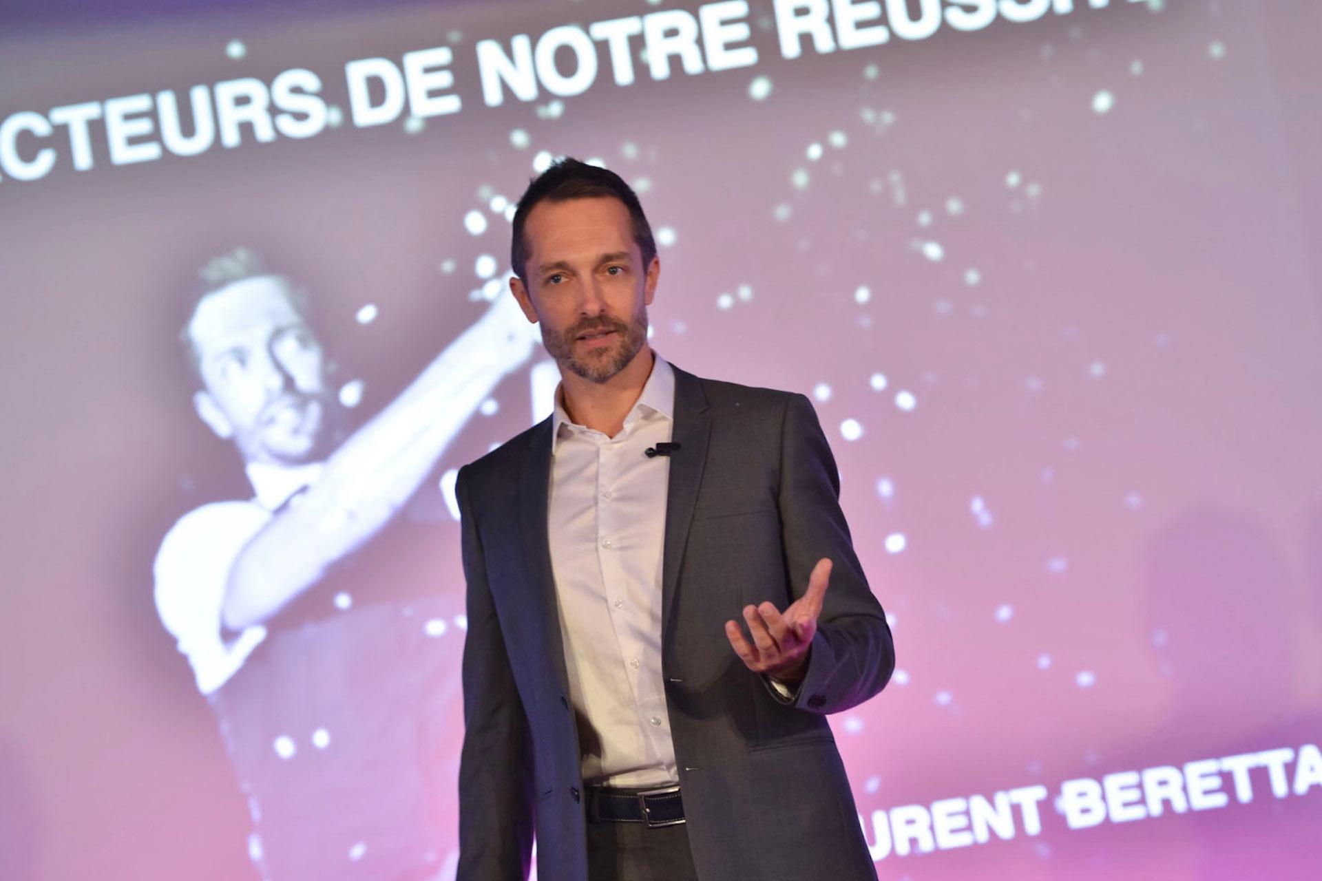 Laurent Beretta Conférencier, Expert de l'Expérience Client